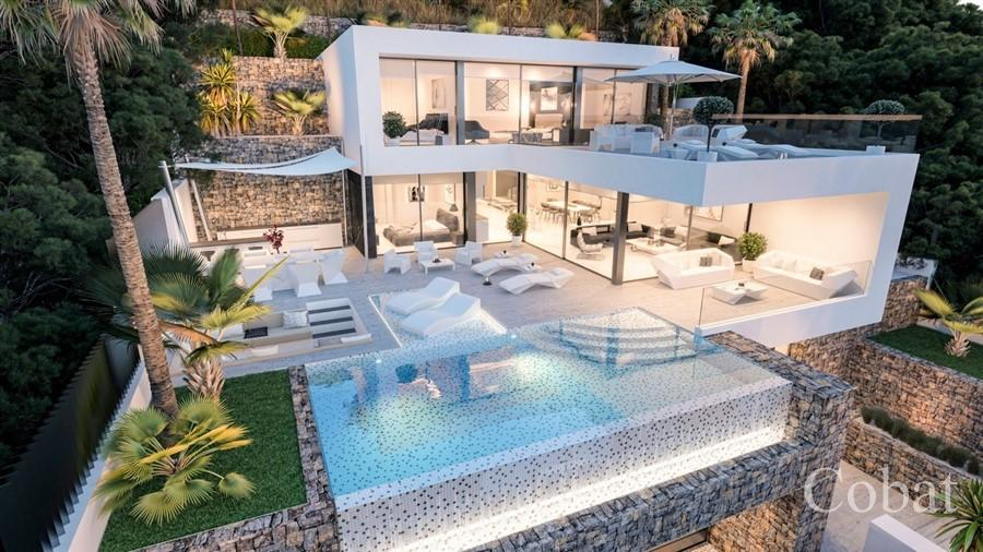 New Build For Sale in Calpe - 1,350,000€ - Photo 1
