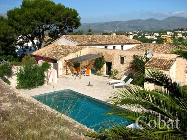 Finca For Sale in Calpe - 897,000€ - Photo 1